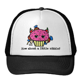 Evil Cupcake/How about a little nibble? Mesh Hats