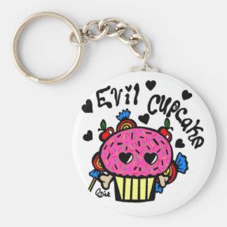 evil cupcake-Keychain Keychain
