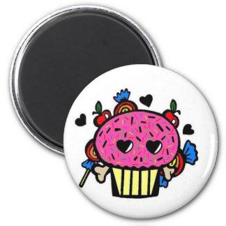 Evil Cupcake Magnet