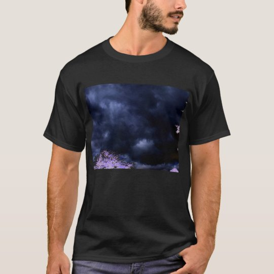 Evil Dark Storm and Negative Branches by KLM T-Shirt