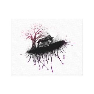 Evil Dead Cabin by Lutz A.D. Canvas Print
