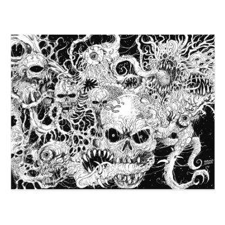 Evil Death Spawn Illustration