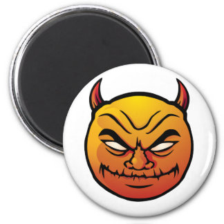 Evil devil smiley (Red Edition) Magnet