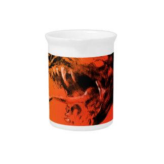 Evil dragon drink pitcher