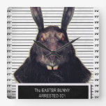Evil Easter Bunny Rabbit SOLO Clocks