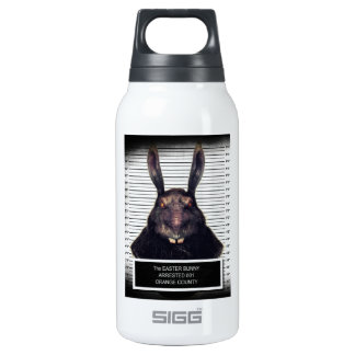 Evil Easter Bunny Rabbit SOLO Insulated Water Bottle