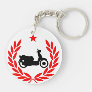 Evil Empire Scooter Club Keychain