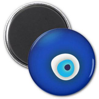 Evil Eye 2 Inch Round Magnet