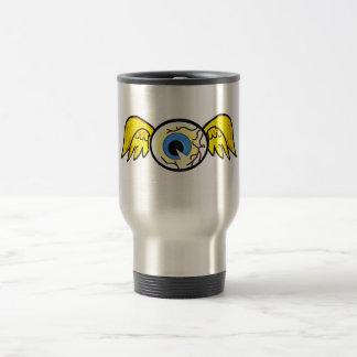 evil eye ball travel mug