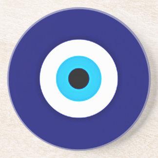 Evil Eye Charm Drink Coaster