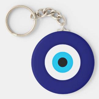 Evil Eye Charm Keychain