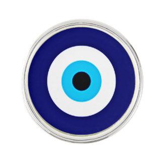 Evil Eye Charm Lapel Pin