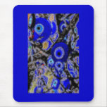 EVIL EYE CHARMS MOUSE PAD