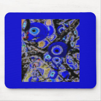 EVIL EYE CHARMS MOUSE PADS