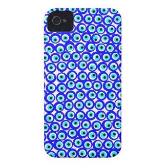 Evil eye design blackberry bold case