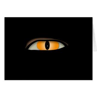 Evil Eye Design Card