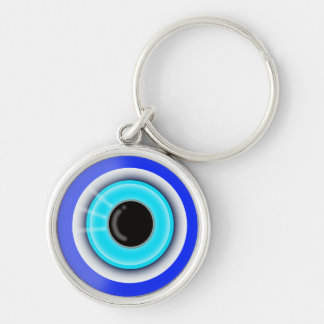 Evil Eye Esoteric Good Luck Symbol - Keychain