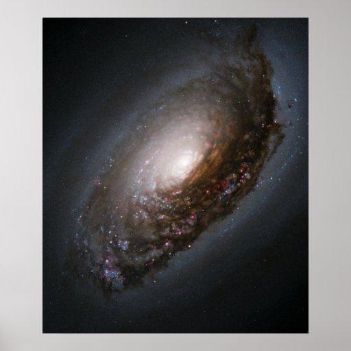 Evil Eye Galaxy Poster