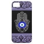 evil eye hamsa  henna iPhone 5 case
