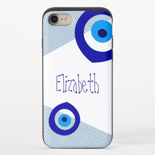 Evil Eye iPhone 8/7 Slider Case