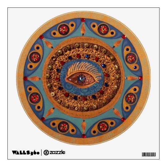 Evil Eye Mandala Wall Decal