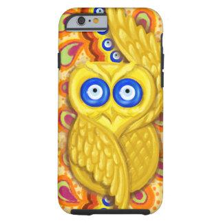 Evil eye owl protection tough iPhone 6 case