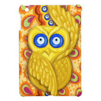 Evil eye owl protection cover for the iPad mini