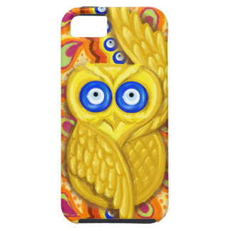 Evil eye owl protection iPhone 5 cover