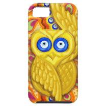 Evil eye owl protection iPhone SE/5/5s case
