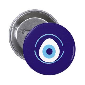 Evil Eye Pinback Button