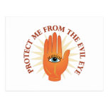 Evil Eye Postcard