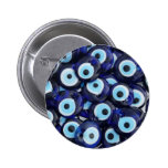 Evil Eye protection Amulets 2 Inch Round Button