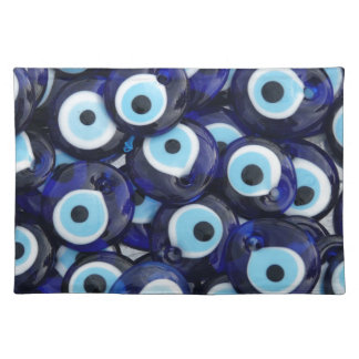 Evil Eye protection Amulets Placemats
