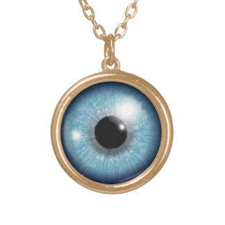 Evil Eye Protection Gold Plated Necklace