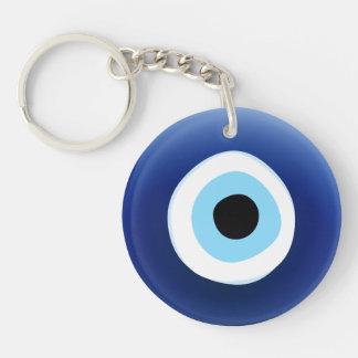 Evil Eye Protection Mediterranean keychain