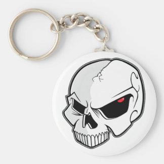 Evil Eye Skull Keychains