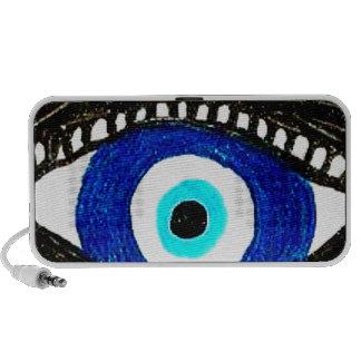 Evil eye portable speaker
