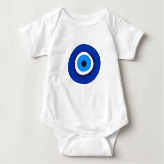 evil eye symbol greek turkish arab talisman baby bodysuit