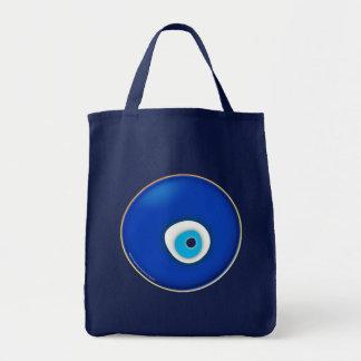 Evil Eye, Symbol of Protection Canvas Bag