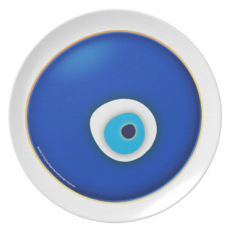 Evil Eye, Symbol of Protection Plate
