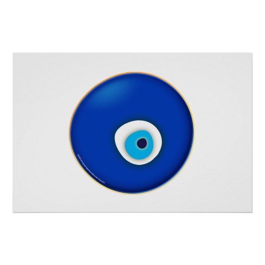 Evil Eye, Symbol of Protection Poster