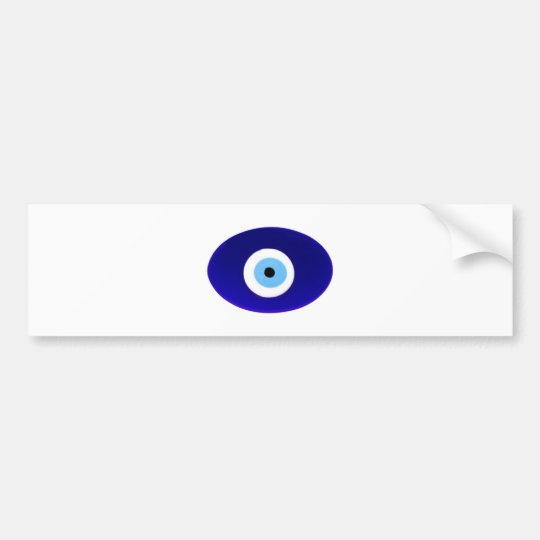 Evil Eye Talisman Bumper Sticker