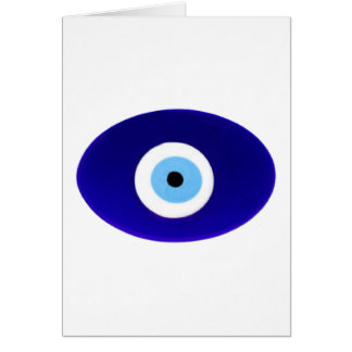Evil Eye Talisman Card