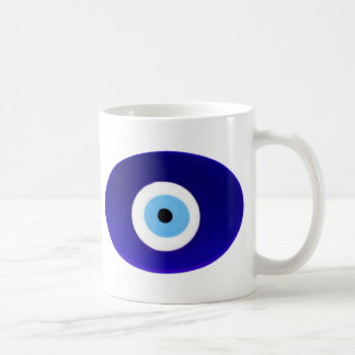 Evil Eye Talisman Classic White Coffee Mug