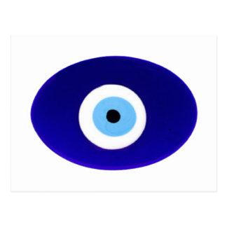 Evil Eye Talisman Postcard