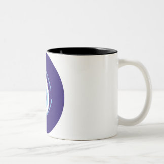 Evil Eye Two-Tone Coffee Mug