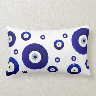 Evil Eye Vintage Oriental Pattern Design Lumbar Pillow