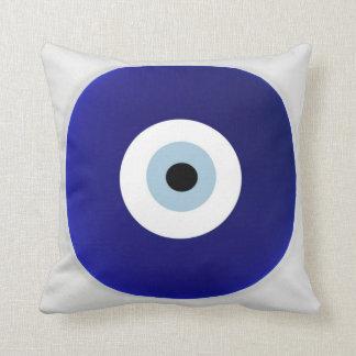 Evil Eye Vintage Oriental Pattern Design Pillow