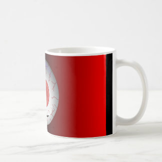 Evil Eyed Grin Coffee Mug