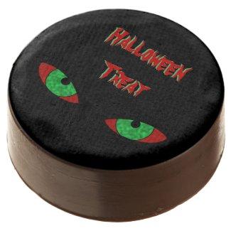 Evil Eyes Halloween Treat Chocolate Covered Oreo